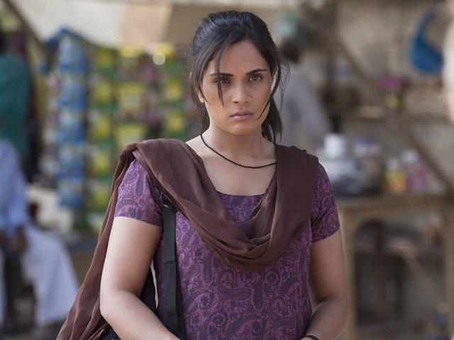 Richa Chadda is brilliant and defiant