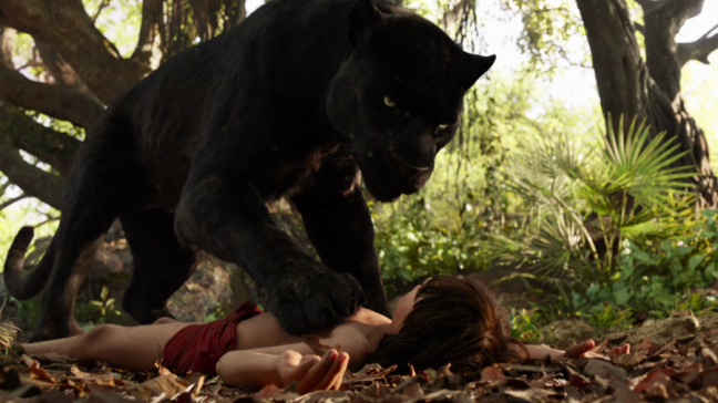 Bagheera, Neel Sethi - dont be a man, be a wolf