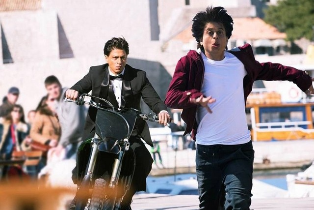 Shah Rukh Khan, Shah Rukh Khan  - to chase a crooked shadow