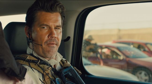 Josh Brolin - laconically smug