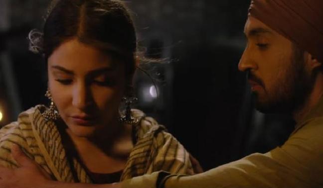 Anushka, Diljit - love's in the (p)air