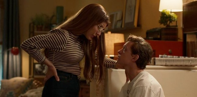 Marisa Tomei, Tom Holland - May get a little nosey